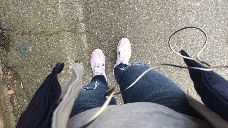 Blue north sails jacket Gray oakley hoodie Blue Hollister jeans Nike airmax thea (also on my board MyShoes)