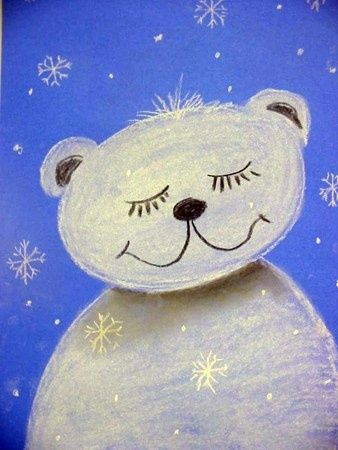 Winter Art Lesson | Art Projects for Winter