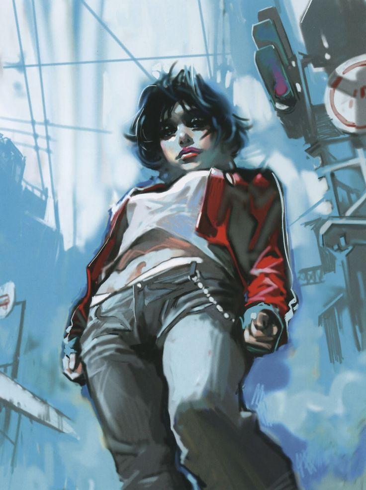 カイ: Benjamin Zhang Bin (本杰明) {female perspective foreshortening woman painting} Up !!