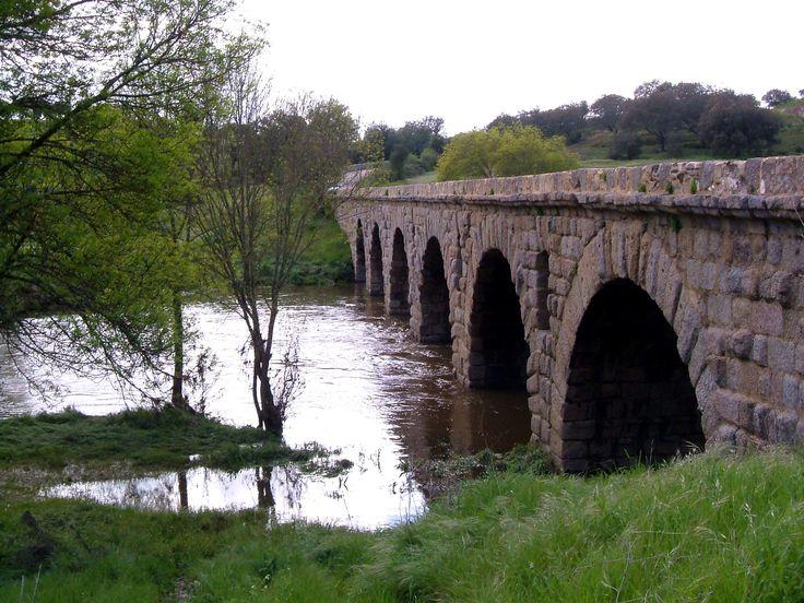 The Roman bridge at Vilar Formosa