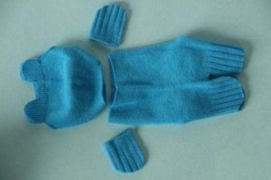 A bear sock