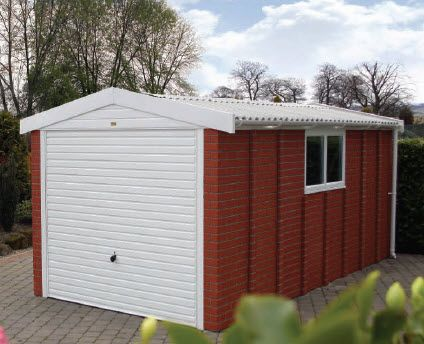 Sectional Concrete Garages By Lidget Compton, The UKu0027s Leading Manufacturer  Of Prefabricated Pent, Apex And Lean To Concrete Garages, Sheds And  Buildings.
