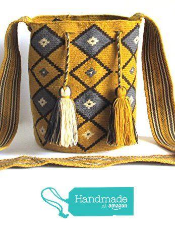 Exceptional SMALL size single tread Wayuu mochila handmade cross body bag from Crafty Barn https://www.amazon.com/dp/B073D5QF2Z/ref=hnd_sw_r_pi_dp_6eDIzbZT74SKA #handmadeatamazon
