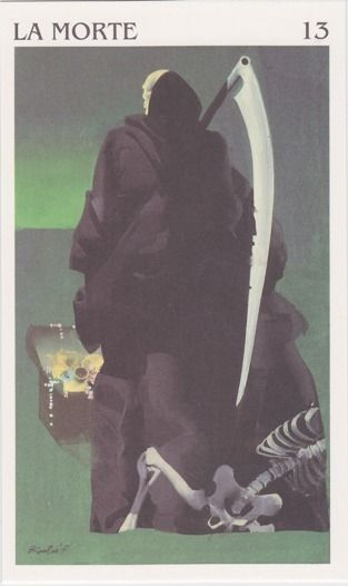Ferenc Pinter - La Morte -The Osborne Tarot Collection | Tarocchi dell'Immaginario