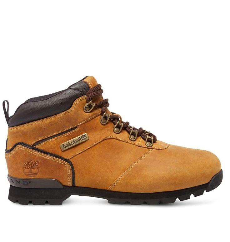 Réf : A11VU Vous serez paré pour aller vous promener avec ces Chaussures Hikers Homme Timberland Splitrock 2 Inspired Classics ! Plusieurs qualités définissent ce modèle : la résistance, puisqu'il est vêtu d'un cuir de vachette en provenance d'un atelier écologique noté Argent par le LWG. L'écoresponsabilité, car il se pare d'une semelle externe créée à partir de 15% de caoutchouc recyclé. Enfin l'esthétisme, puisque ce modèle est en couleur wheat et bénéficie d'un collier rembourré.