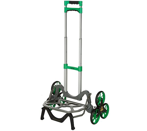 Work smarter, not harder with the UpCart all-terrain stair climbing hand cart. Page 1 QVC.com