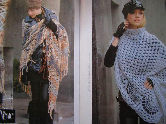 Crochet patterns Zhurnal Mod 596 Shawl от DupletCrochetSchool