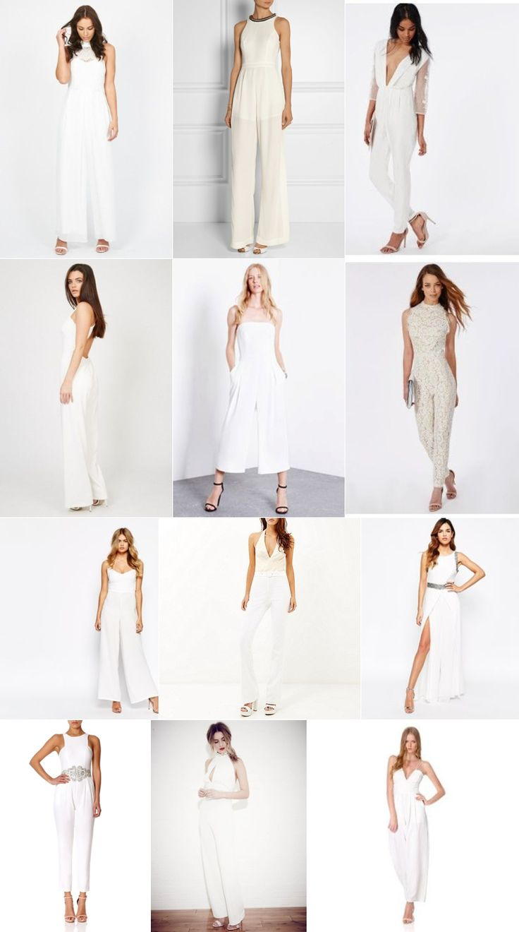 Bridal Jumpsuits From The High Street | Fly Away Bride