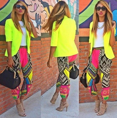 Bright Yellow Blazer