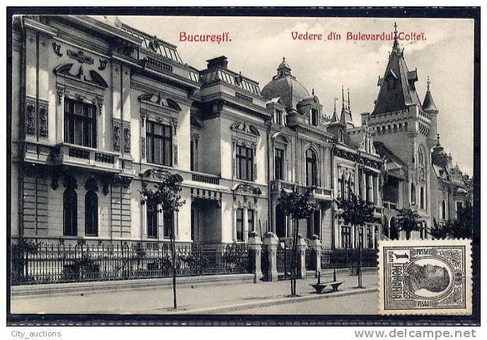 Bucuresti - Bd. Coltei - interbelica