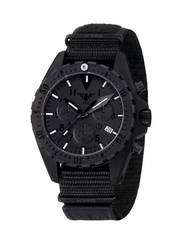 Uhr KHS Missiontimer 3 Titan Chronograph XTAC  Limitiert