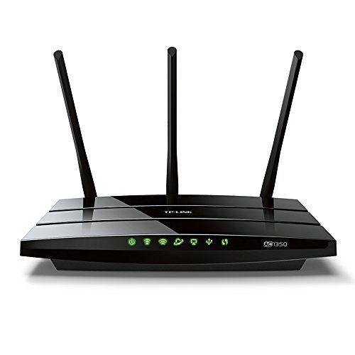 TP-Link Routeur 1350 Mbps Wi-Fi Bi-Bande: 450 Mbps en 2.4 GHz, 867 Mbps en 5 GHz, 5 ports Ethernet, 1 Port USB 2.0  (Archer C59) (AC Bi-bande Haut débit) - Noir #Link #Routeur #Mbps #Bande: #GHz, #ports #Ethernet, #Port #(Archer #bande #Haut #débit) #Noir