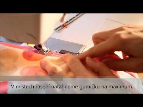 Caramilla Easy - lemování půlenou pruženkou - YouTube