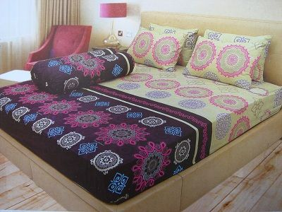 Sprei Ladyrose Disperse by Internal Group 180x200 Murah