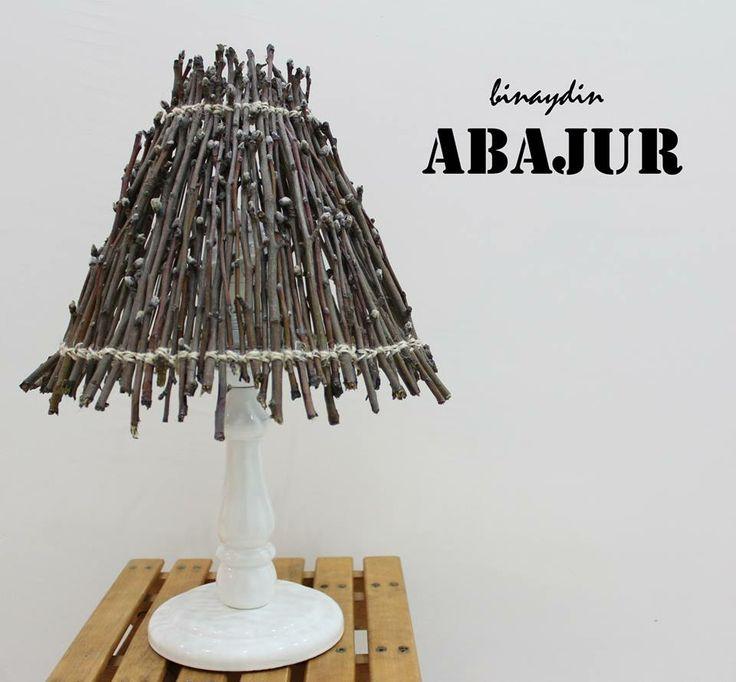 Diy , lamp , lampshade , bough , branch , ağaç dalı , tasarım , design , samsun , turkey