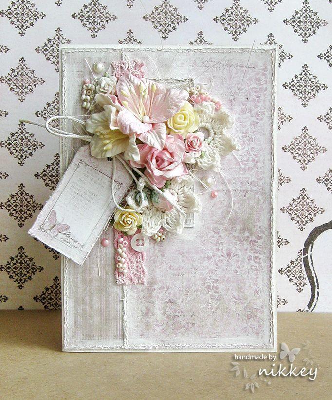 Postcard Blog: Shabby lily