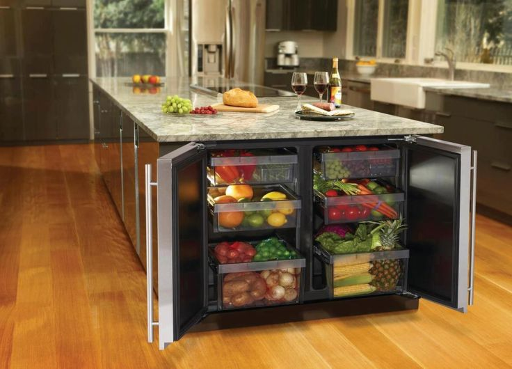 Creative under counter refrigeration unit from U-Line