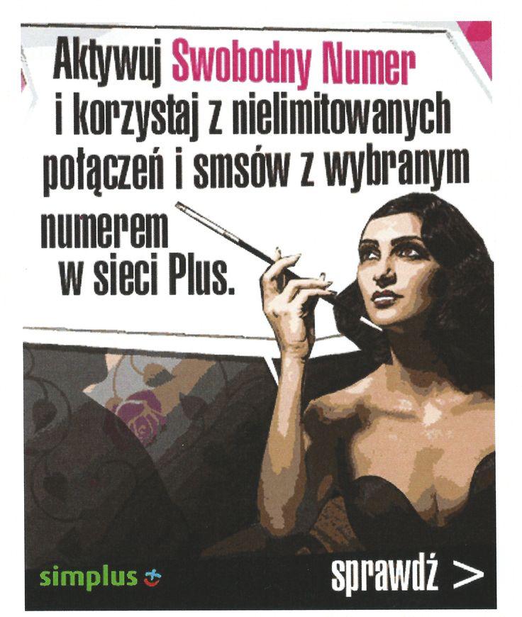 Kampania promocyjna nowej oferty sieci Plus.
