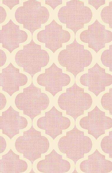 Wallpops 'Watercolor Quatrefoil' Prepasted Wallpaper available at #Nordstrom