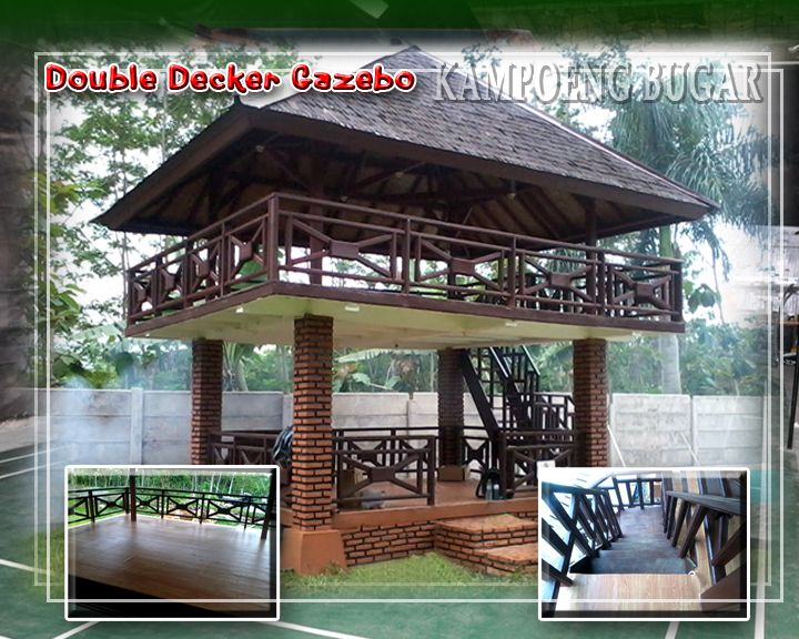 Two Story Gazebo When One Story Is Just Not Enough