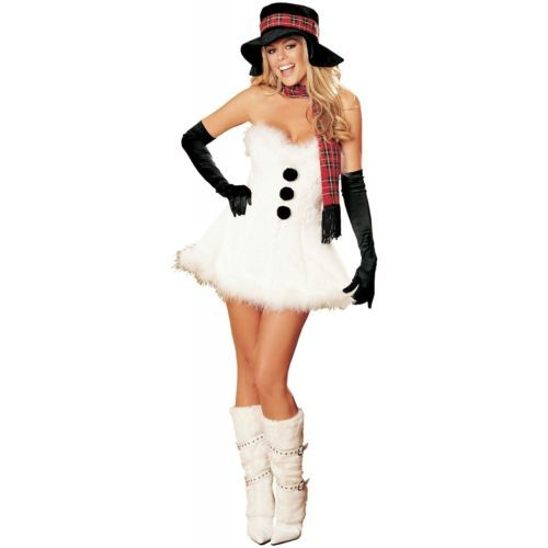 snowman costume adult