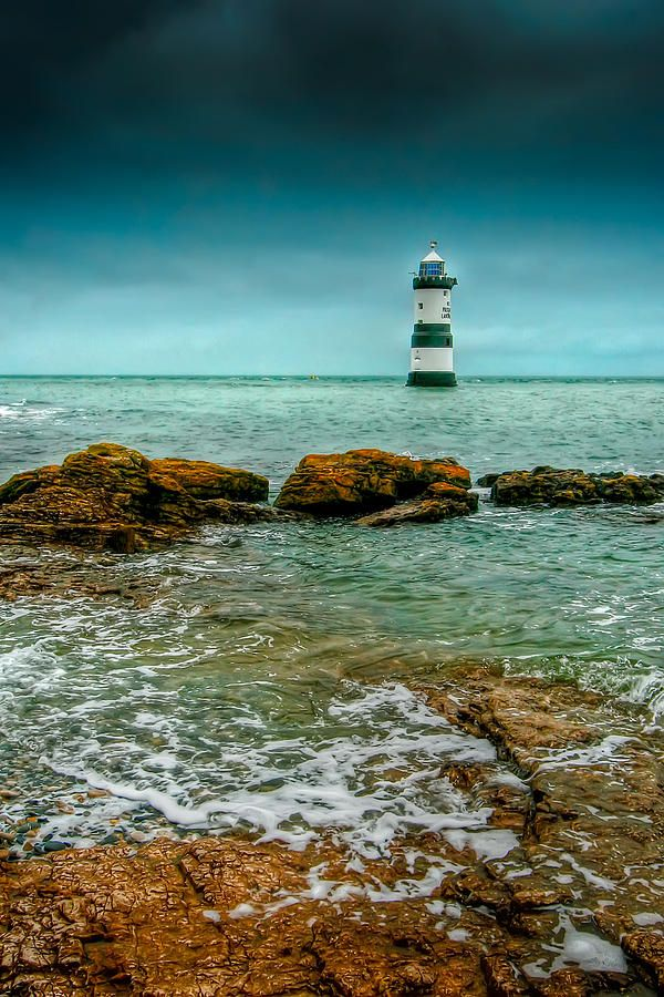 Been to this one a few times now. It has a bell and not a horn. Penmon Point, nearby Puffin Island, Anglesey, Wales, UK.