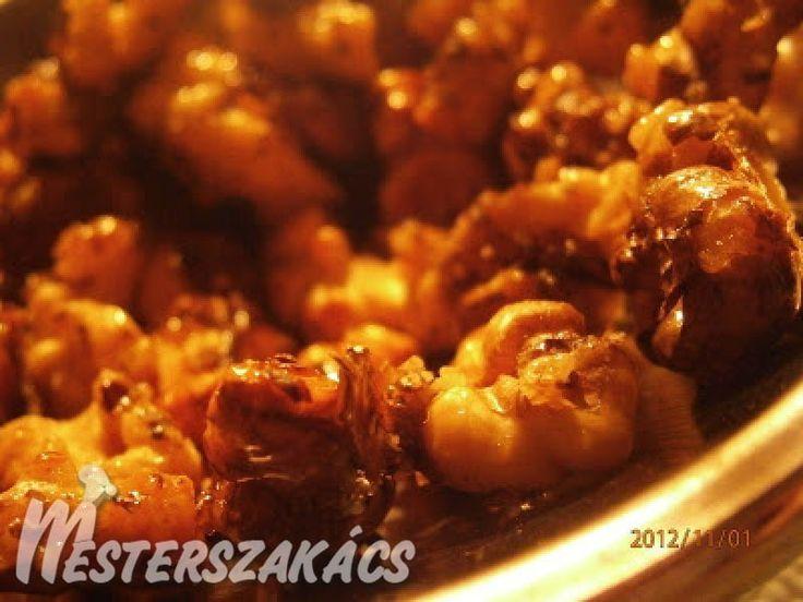 Kínai mézes dió