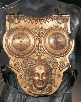 Phoenicians – Tunisia – 2nd century b. C – Golden bronze armour from Ksour es-Saf