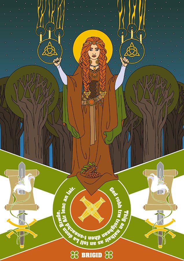 Brigid, celtic goddess