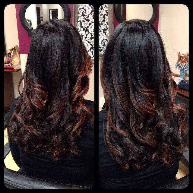 Perfect highlights for olive skin. This color will definitely not wash you out.