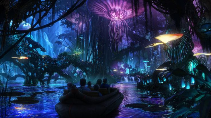 Disney's Avatar theme park
