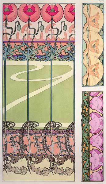 Image: Alphonse Mucha - Plate 29 from ''Documents Decoratifs''