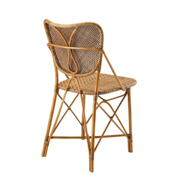 """17""""W X 18""""D X 34""""H  - Rattan Dining Chair 