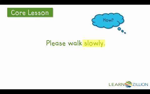 How do you describe verbs in a sentence?