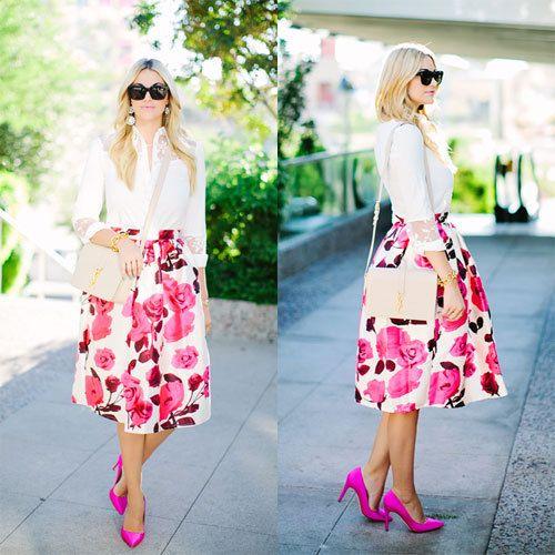 Moda-2015-mujeres-del-satén-para-mujer-Vintage-impreso-Floral-plisado-Midi-faldas-moda-mujer-faldas.jpg (500×500)