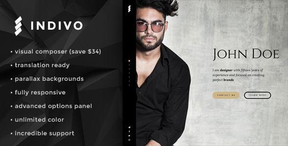 Indivo - Personal Resume and Portfolio Theme