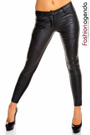 Pantaloni din Piele Jazz >> Click pe poza pentru a vedea pretul. #PantaloniDama