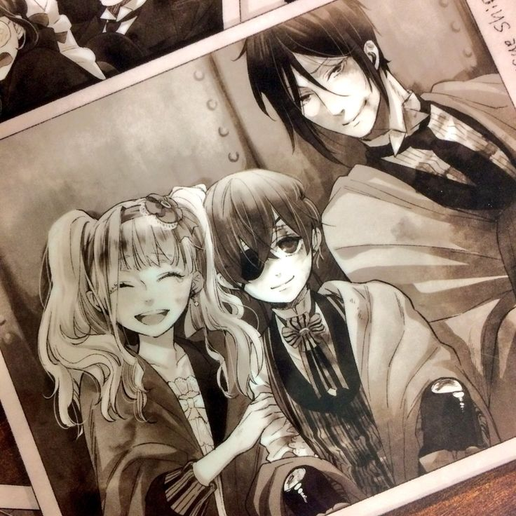 Black Butler/Kuroshitsuji Book of The Atlantic | Sebastian Michaelis | Ciel Phantomhive | Elizabeth Midford