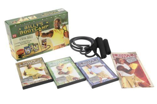 Billy`s BootCamp - Billy Bands by Billysbootcamp. $79.95. Billy Blank will motivate and transform your mind and body with his new explosive Tae Bo® work out, Billy's BootCamp. This high energy pumping workout system will pump you up mentally and physically and have you sweating and shedding those unwanted pounds in no time! Billy's Boot Camp, a fat blasting, muscle toning program features 3 new workouts and the all NEW Billy Bands, the secret weapon in the bat...