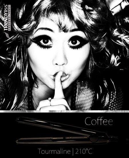 Le lisseur boucleur TrendyLiss Coffee