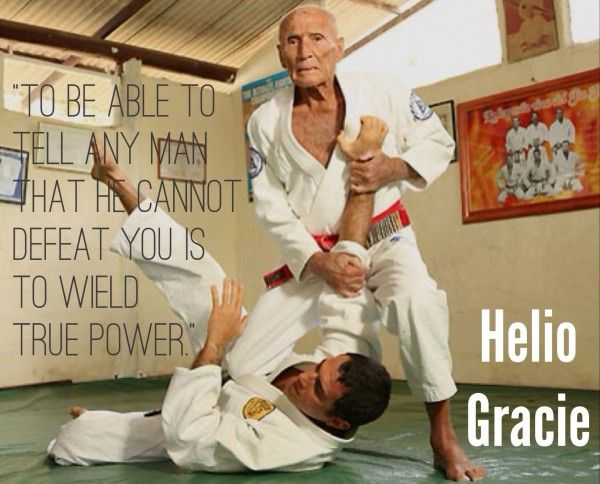 Saulo's observation about Helio, from Jiu-Jitsu University. Article about older people doing bjj.