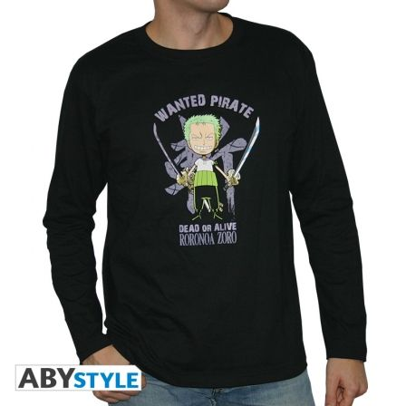 ONE PIECE T-shirt One Piece Zoro manches longues