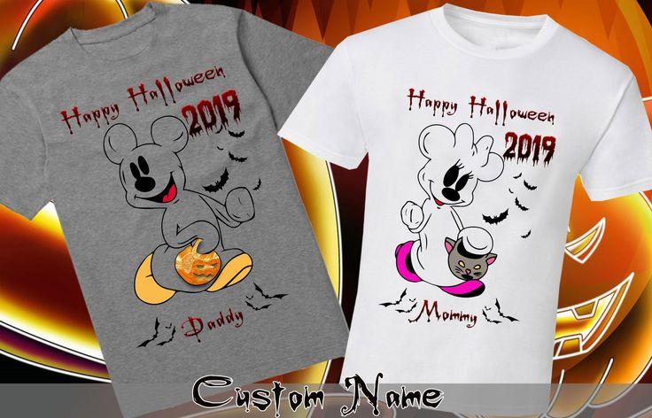 Mickey's Halloween Party Disney Halloween Family Shirt