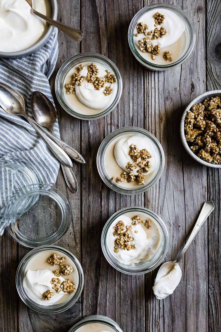 Jasmine Pudding with Honeyed Buckwheat