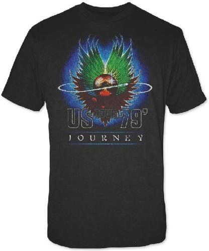 Journey Concert T-shirt - Journey US Tour 1979 | Men's Black T-shirt