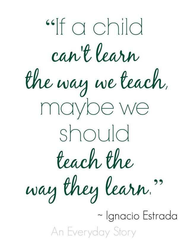 How do you teach your students? http://www.aneverydaystory.com/2014/10/07/teach-the-way-they-learn/?utm_content=bufferd4284&utm_medium=social&utm_source=pinterest.com&utm_campaign=buffer #teachingquotes