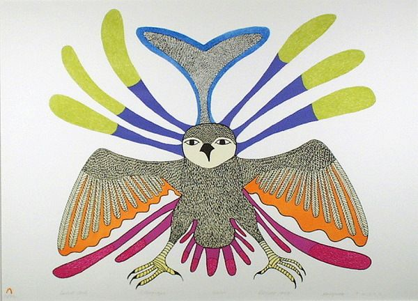 Spirit Owl - Kenojuak Ashevak, 1979