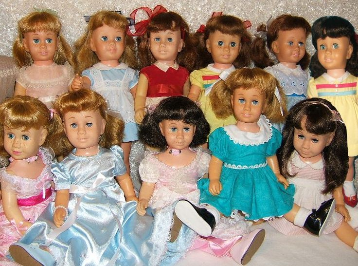Vintage Chatty Cathy doll convention,