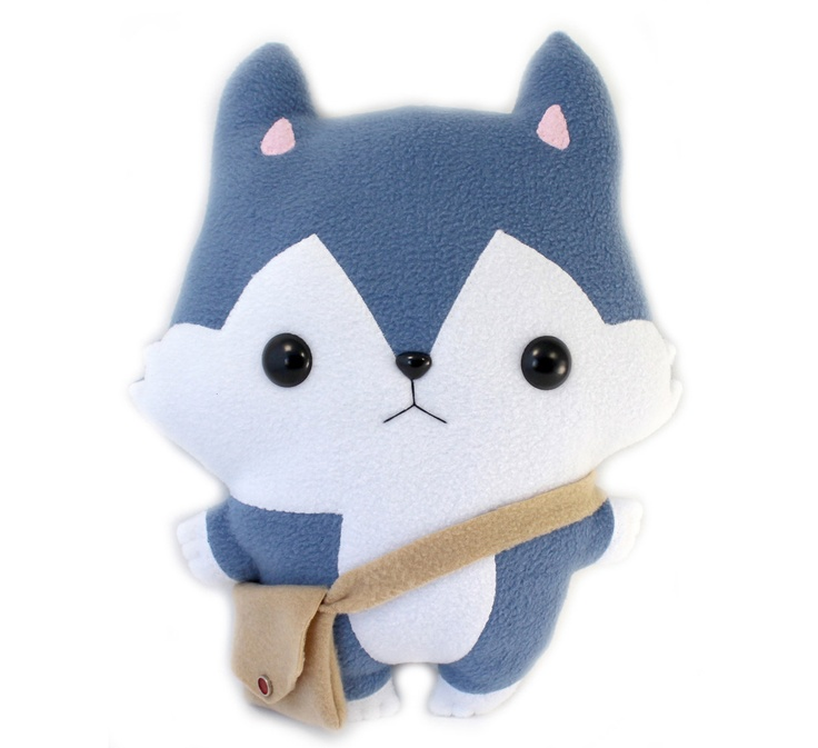 Plushie Sewing Pattern PDF Cute Soft Plush Toy - Hachi Husky Wolf Stuffed Animal 14. $8.50, via Etsy.