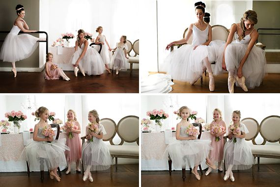Wedding friends Styled Shoot Ballet Inspired2